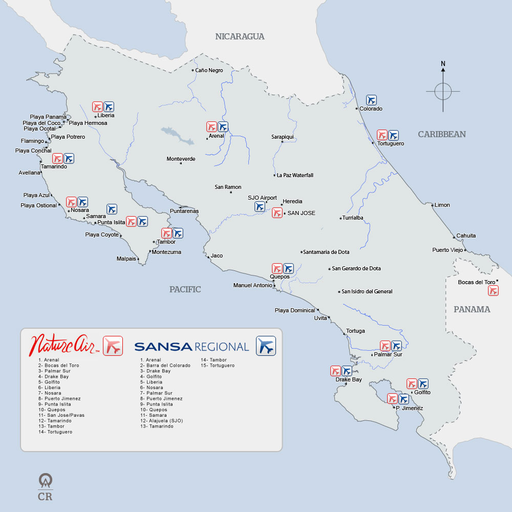 Map Of Airports