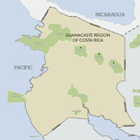 Guanacaste Region of Costa Rica